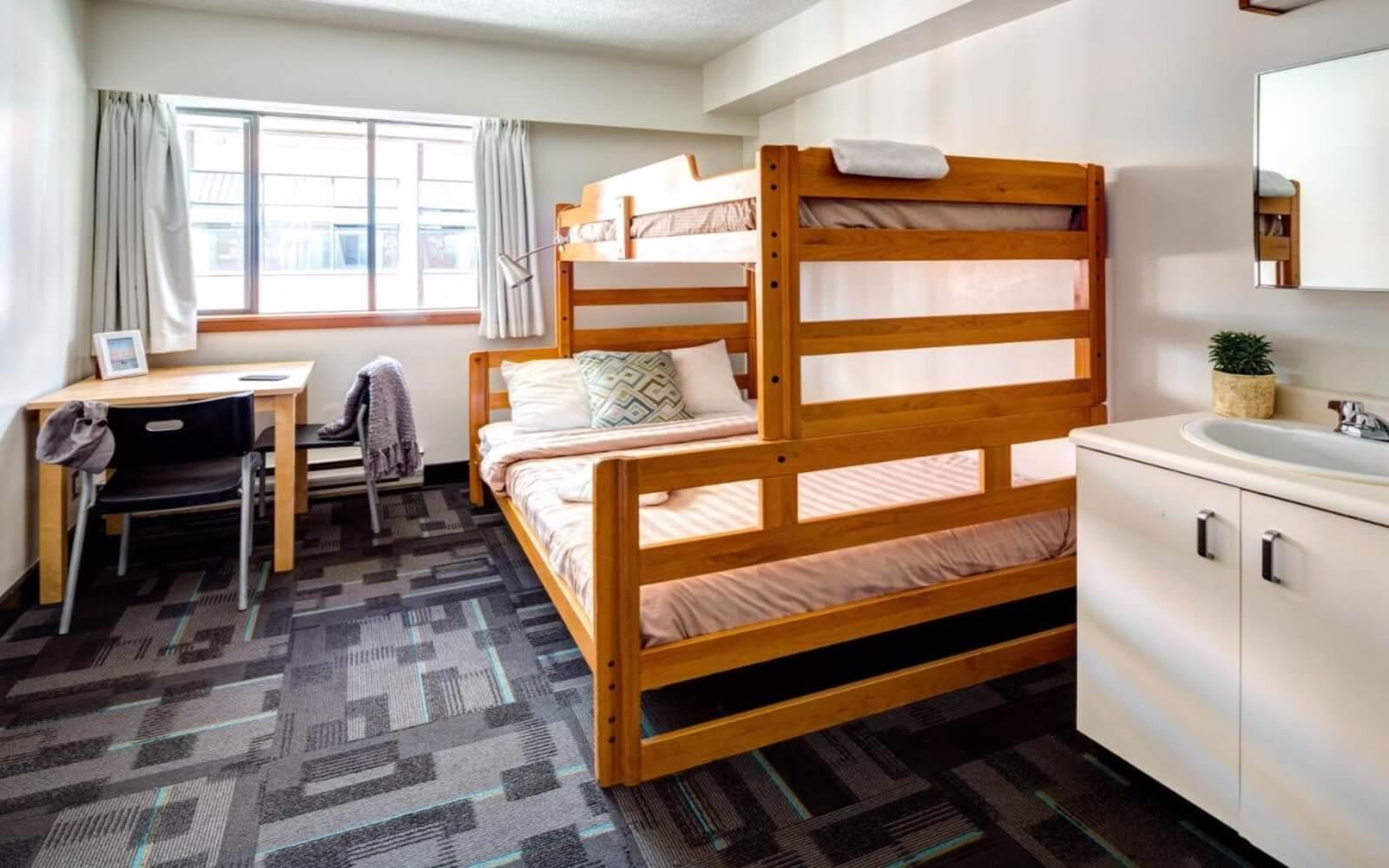 Dorm at HI Vancouver Downtown